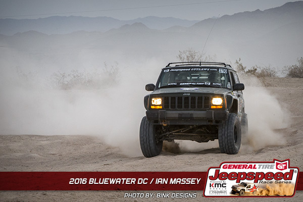 Ian Massey, Jeepspeed, General Tire, Bink Designs, Off Road, Jeep Cherokee, Poly Performance, G2 Axle And Gear