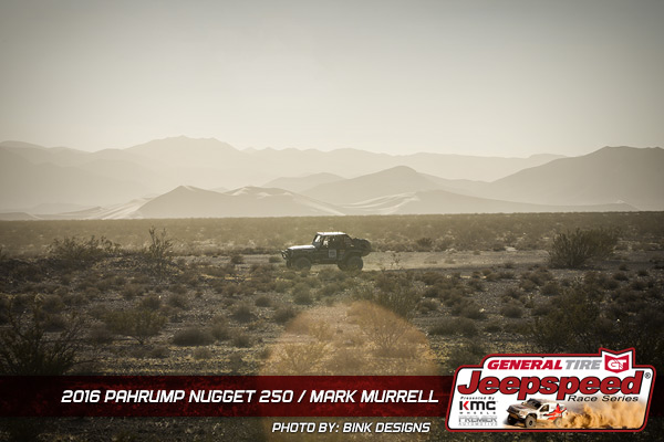 Jeepspeed, Mark Murrell, Pahrump 250, Bink Designs, General Tire, KMC Wheels