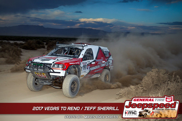 Jeff Sherrill, Jeepspeed, Vegas To Reno, General Tire