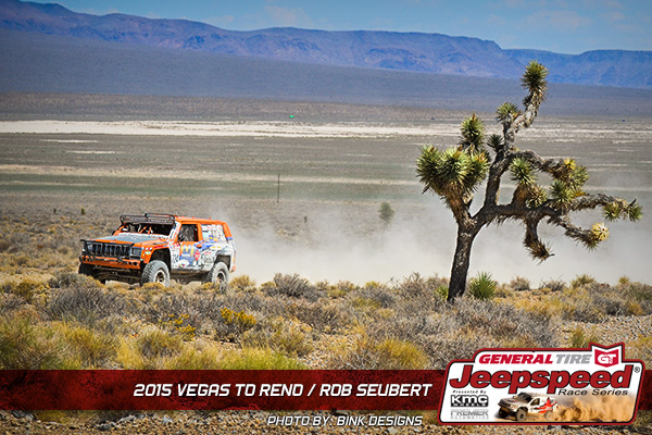 Jeepspeed, Rob Seubert, Vegas To Reno, General Tire, Bink Designs