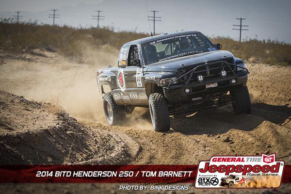 Tom Barnett, Jeepspeed, Dodge Ram, T&J Performance