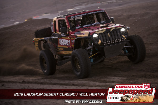 Jeepspeed, Will Heaton, General Tire, KMC Wheels, Bink Designs