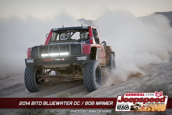 Bob Mamer, Jeepspeed, Comanche, General Tire, ATX Wheels, King Shocks