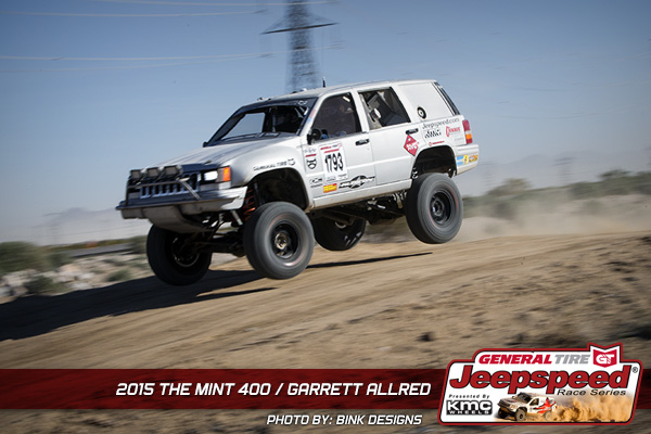 Garrett Allred, The Mint 400, General Tire, Off Road