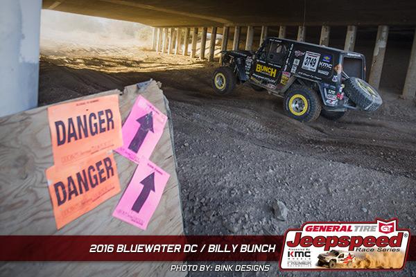 Jeepspeed, Billy Bunch, General Tire Grabber, Bink Designs