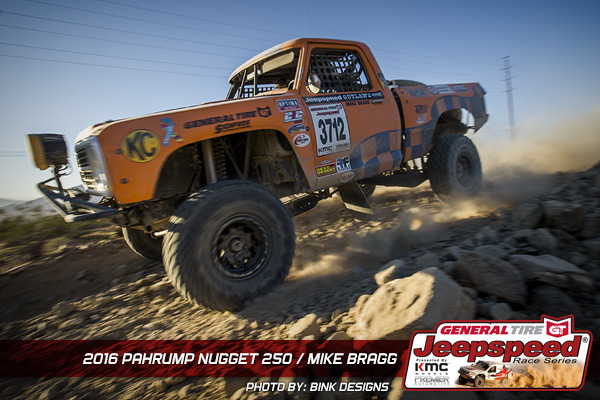 Mike Bragg, Pahrump 250, Jeepspeed Outlaw Champion, General Tire, Bink Designs, KC Hilites, Poly Performance