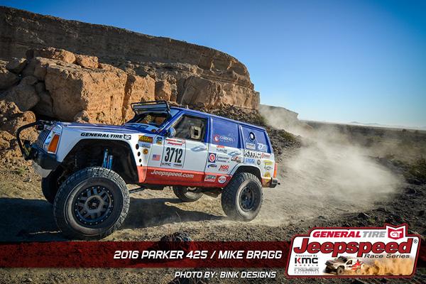 Jeepspeed, Mike Bragg, General Tire, Parker 425, Bink Designs
