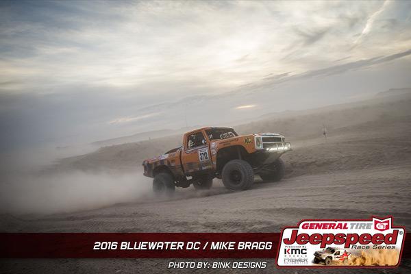 Mike Bragg, Jeepspeed, General Tire Grabber X3. Bink Designs, KMC Wheels, Best In The Desert