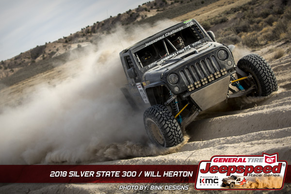Will Heaton, Jeepspeed, General Tire, KMC Wheels, Bink Designs