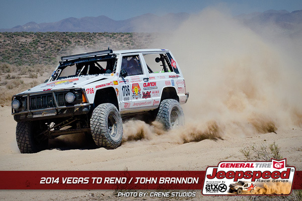John Brannon, Vegas To Reno, General Tire, Off Road Racing,