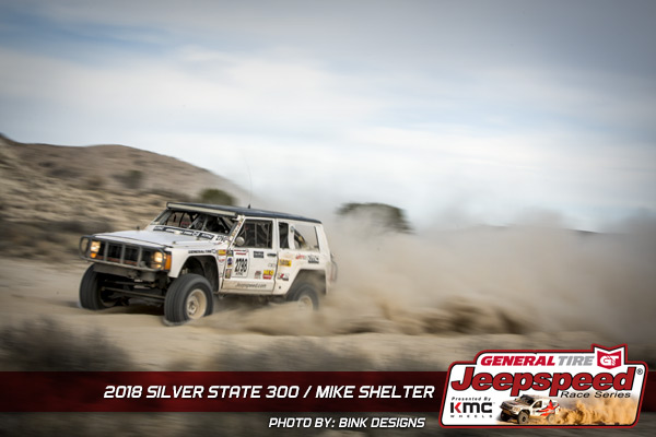 Mike Shelter, Jeepspeed, General Tire, KMC Wheels, Bink Designs