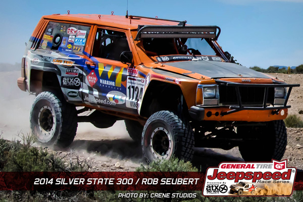 Rob Seubert, Jeepspeed, General Tire, Silver State 300