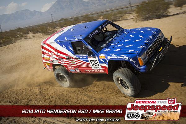 Mike Bragg, General Tire, Grabber, Jeepspeed, Henderson 250, Bink Designs, King Shocks