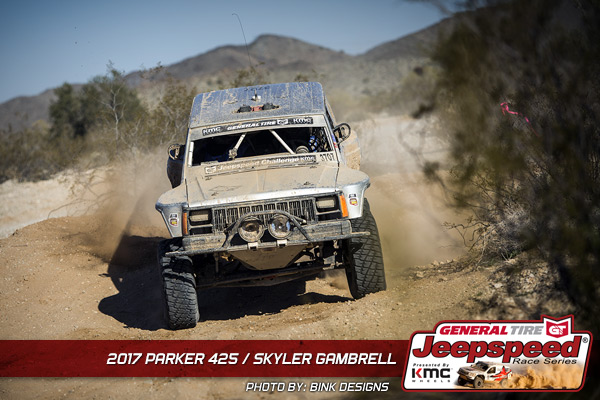 Skyler Gambrell, Jeepspeed, General Tire, KMC Wheels, Bink Designs