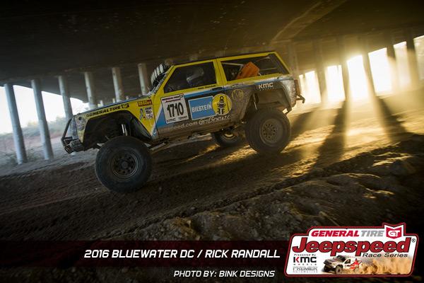 Rick Randall, Jeepspeed, General Tire Grabber X3, Bink Designs