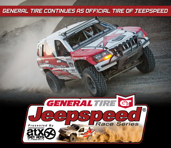 General Tire Continues as Official Tire of Jeepspeed