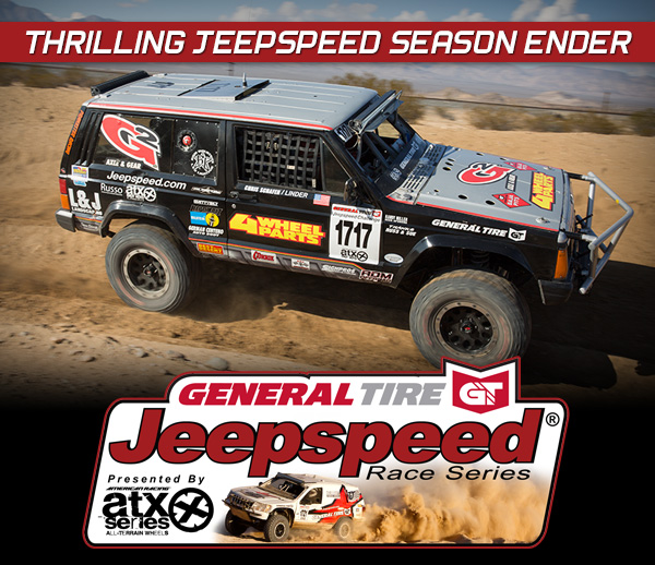 Eric Heiden Wins General Tire Jeepspeed ATX Wheels BITD Henderson 250