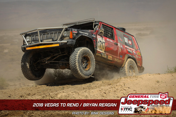 Bryan Reagan, Jeepspeed, General Tire, KMC Wheels, Off Road, Vegas To Reno, Bink Designs