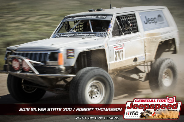Robert Thomasson, Jeepspeed, General Tire, KMC Wheels, Off Road