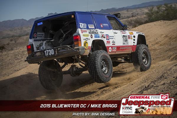 Mike Bragg, Jeepspeed, General Tire, KMC Wheels