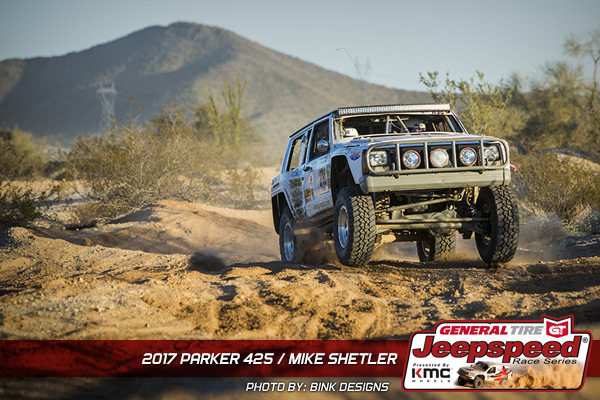 Mike Shetler, Jeepspeed, General Tire, KMC Wheels, Bink Designs
