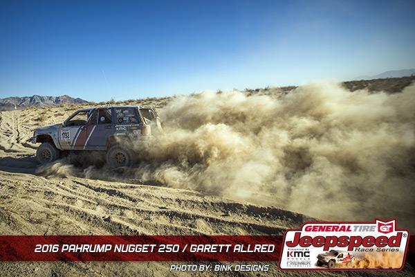 Garett Allred, General Tire, Grabber X3, Jeepspeed, Bink Designs