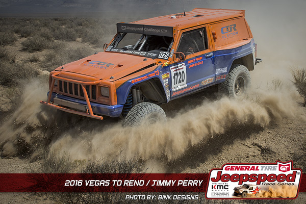 Jeepspeed, Jimmy Perry, General Tire, Premiere Automotive, KMC Wheels, Bink Designs