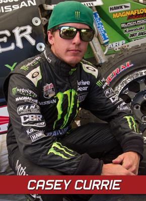 Casey Currie, General Tire, Monster Energy, Jeepspeed, Bink Designs