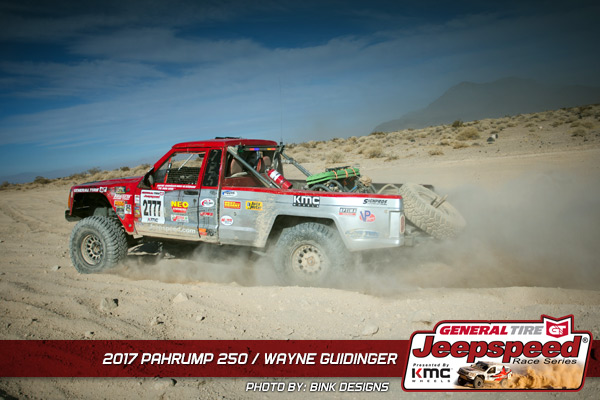 Wayne Guidinger, Jeepspeed, General Tire Grabber X3, KMC Wheels, Pahrump 250, Bink Designs