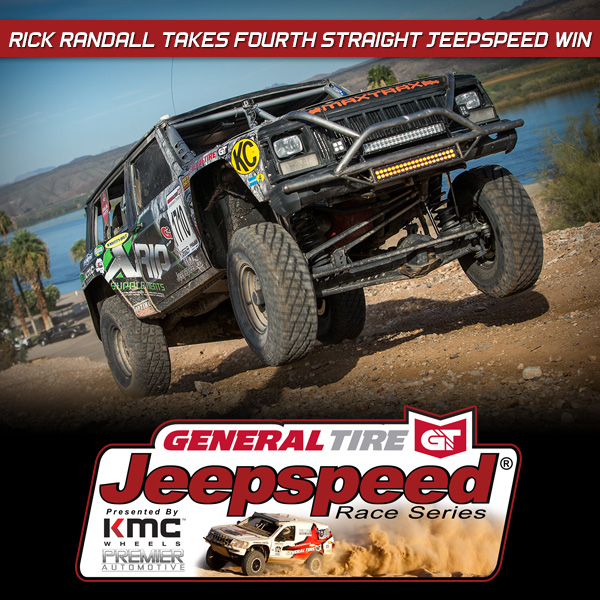 Jeepspeed Racer Rick Randall Continues His Roll On The River At Blue Water Challenge