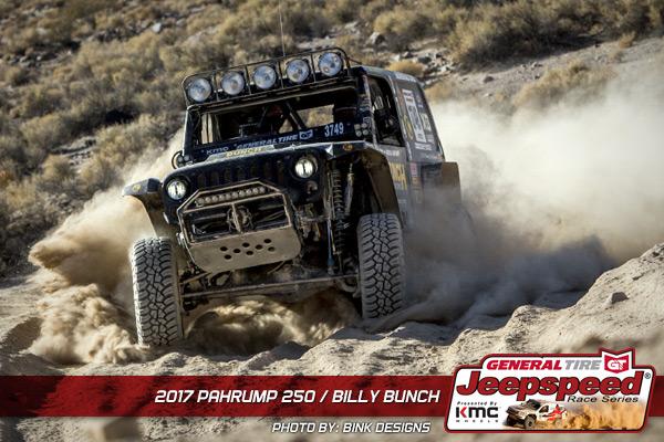 Billy Bunch, Jeepspeed, KMC Wheels, General Tire Grabber X3, Bink Designs