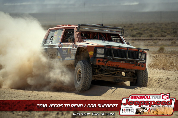 Rob Suebert, Jeepspeed, General Tire, KMC Wheels, Bink Designs