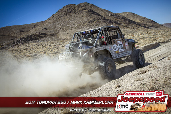 Mark Kammerlohr, Jeepspeed, General Tire, KMC Wheels, T&J Performance, KING Shocks, Bink Designs, Tonopah 250