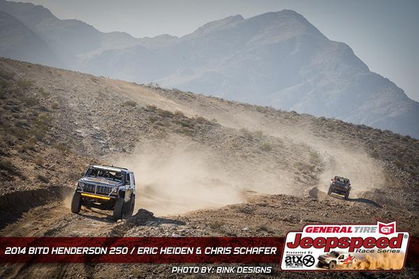 Chris Schafer, Eric Heiden, General Tire, 4 Wheel Parts
