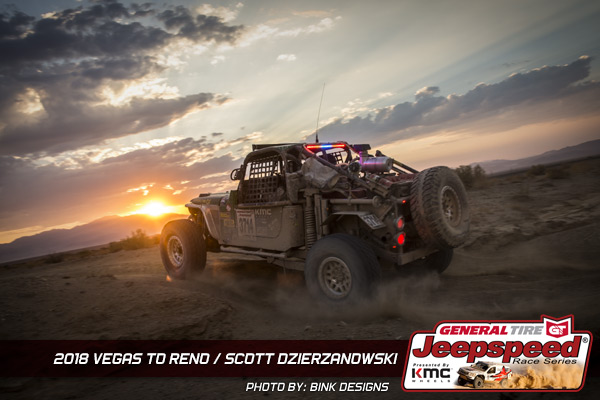 Jeepspeed, General Tire, KMC Wheels, Vegas To Reno, Bink Designs, Jeep