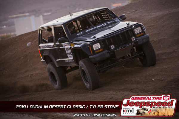 Tyler Stone, Jeepspeed, General Tire, KMC Wheels, Bink Designs