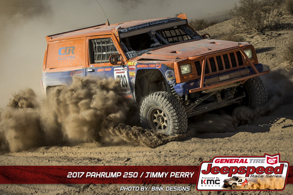 Jeepspeed Race Series, Jimmy Perry, KMC Wheels, General Tire, Bink Designs