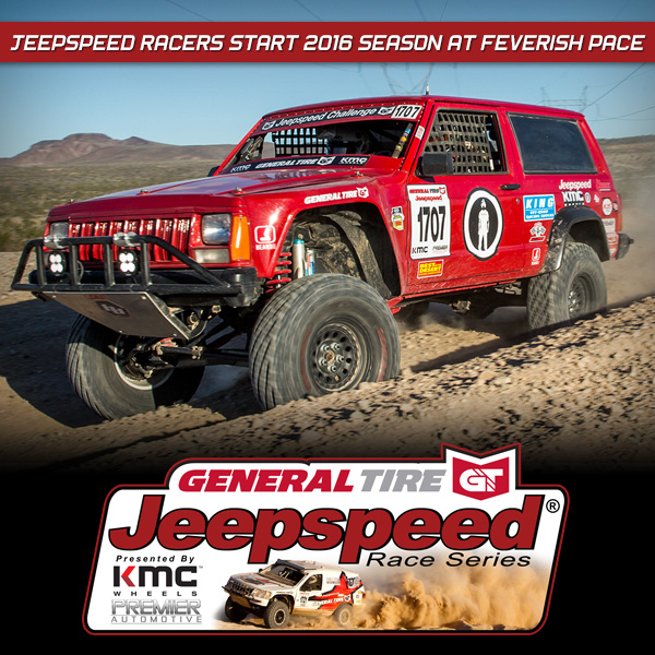 Jeepspeed Poised For Outstanding Season In 2016