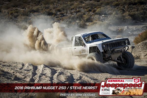Steve Hearst, Jeepspeed, General Tire, KMC Wheels, Bink Designs, Pahrump 250