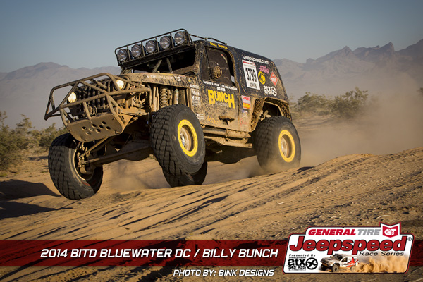Billy Bunch, Jeepspeed, General Tire, Parker, T&J Performance