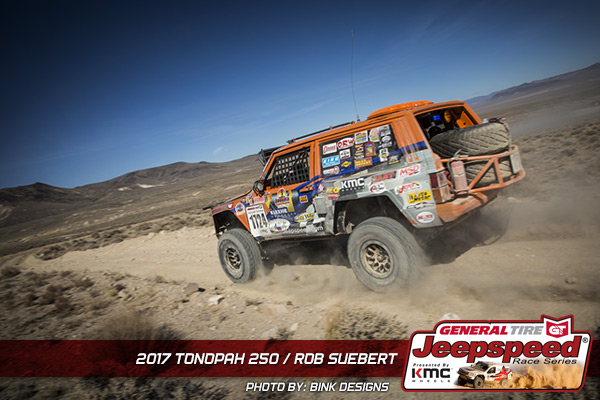 Jeepspeed, Rob Suebert, General Tire, KMC Wheels, Bink Designs, Best In The Desert, Tonopah 250