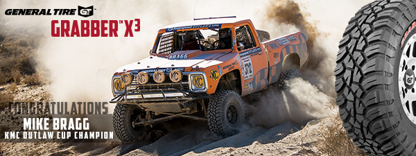 Mike Bragg, Jeepspeed Outlaw Champion, General Tire, KMC Wheels