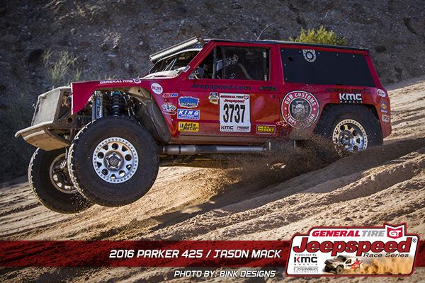 Jason Mack, Jeepspeed, KMC Wheels, King Shocks, Howe Performance, Bink Designs