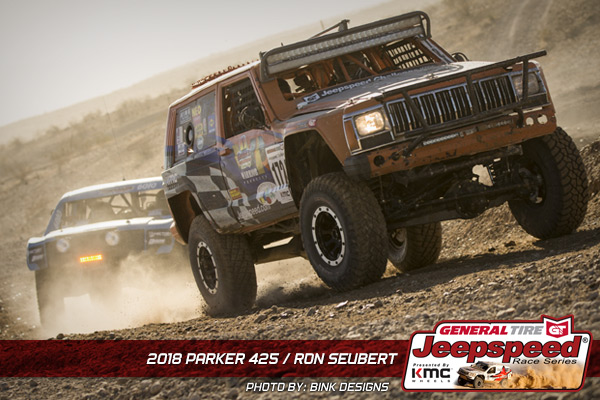 Ron Suebert, Jeepspeed, General Tire, KMC Wheels, Bink Designs