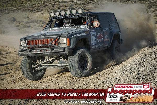 Jeepspeed, Tim Martin, Jeep Cherokee, Vegas To Reno, Bink Designs