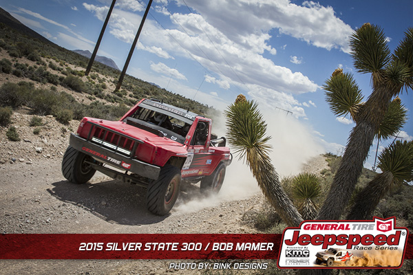 Bob Mamer, Jeepspeed, Jeep Comanche, Silver State 300