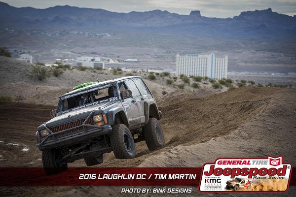 Tim Martin, Jeepspeed, Laughlin, JAZ Products, General Tire, Bink Designs