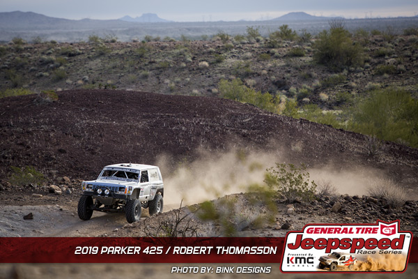 Robert Thomasson, Jeepspeed, General Tire, KMC Wheels, Bink Designs