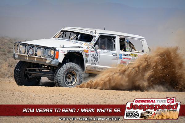 Mark White Sr., Vegas To Reno, Rollover