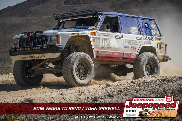 Jeepspeed, John Grewell, KMC Wheels, Currie Enterprises, General Tire, Vegas To Reno